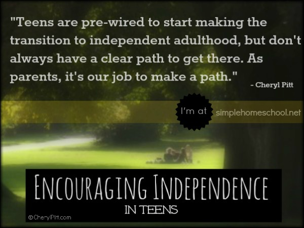 Independence and freedom in teens