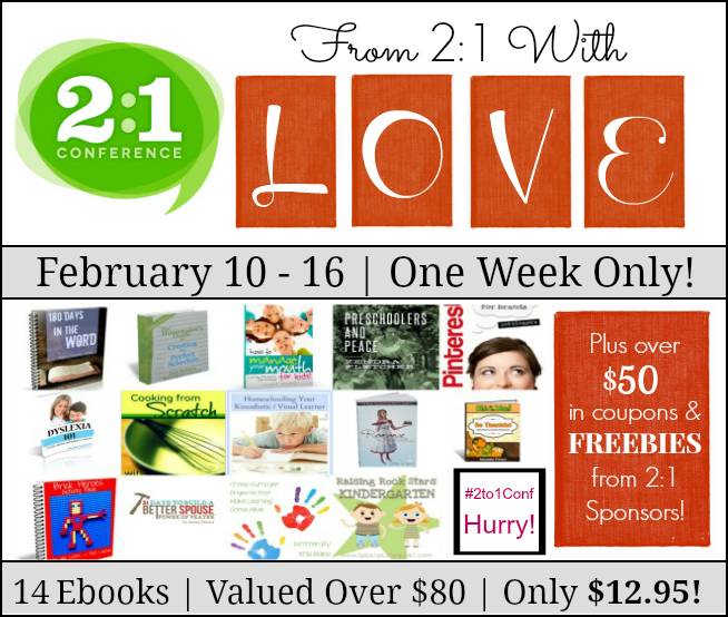 2:1 Ebook Bundle