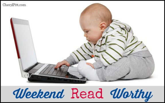 Weekend Read Worthy Links
