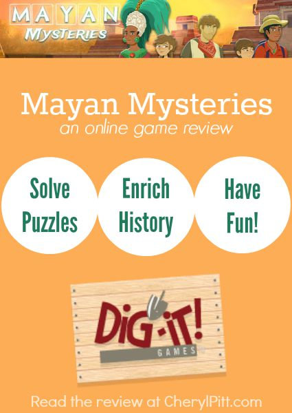 Mayan Mysteries Game