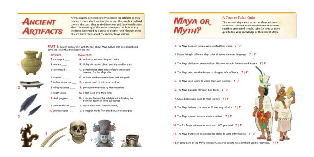 Online Mayan Game
